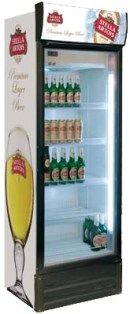 Шкаф холодильный стеклянный INTER-400