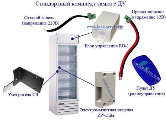 Как сделать замок для холодильника 407