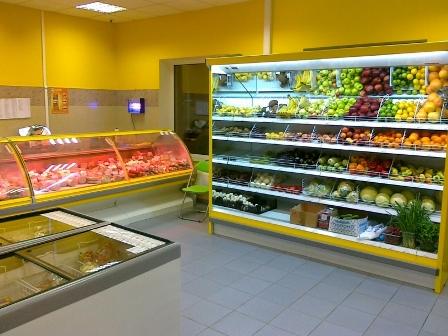 Холодильные камеры для супермаркетов