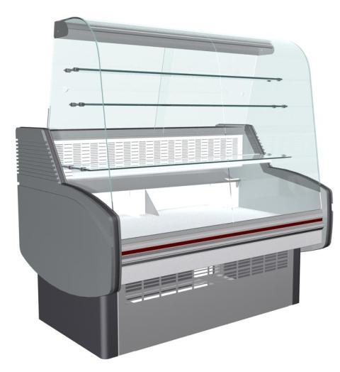 Холодильная витрина Айсберг Оптима К-1,6